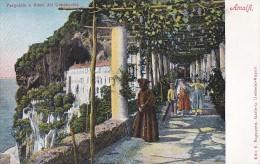 Italie - Amalfi - Pergola De L'Hôtel Dei Cappuccini - Salerno