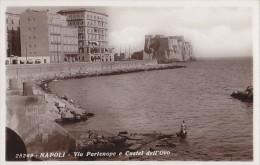 Italie - Napoli - Via Partenope E Castel Dell'Ovo - Napoli