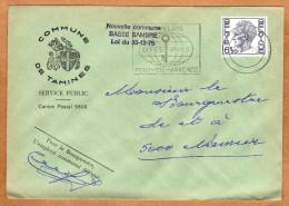 Enveloppe Brief Cover Commune De Tamines - Belgique