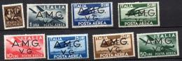 1945-47 AMG VG  Democratica  Aerea Nuovi MLH* - Trieste