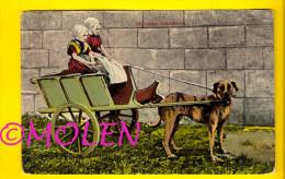 ZEELAND HONDENKAR WALCHEREN WALCHERSE ATTELAGE DE CHIEN * DOG DRAWN CART * HONDEKAR * VOITURE à CHIENS * HUNDEKARRE 2969 - Spannen