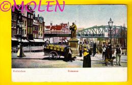 HONDENKAR ERASMUS ROTTERDAM Voor 1906 ATTELAGE DE CHIEN * DOG DRAWN CART * HONDEKAR * VOITURE à CHIENS * HUNDEKARRE 2965 - Spannen
