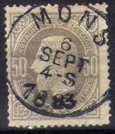 35 Mons - 1869-1888 Lion Couché