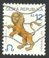 Czech Republic, 12 K. 2001, Sc # 3072, Mi # 283, Used. - Czech Republic