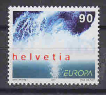 Europa Cept 2001 Switzerland 1v ** Mnh (F4869F) - 2001