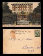 E)1911 ITALY, VILLA SERRA, POSTCARD TO USA - Altri