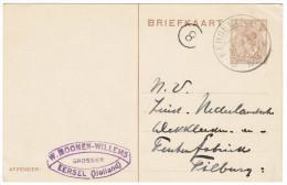 Kortebalk Eersel 1 (NB) 1924 - Poststempel