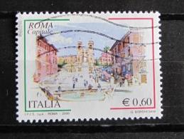 ITALIA USATI 2009 - ROMA CAPITALE 2009 - SASSONE 3079 - RIF. G 2043 - 6. 1946-.. Repubblica