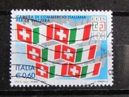 ITALIA USATI 2009 - CAMERA DI COMMERCIO ITALIANA PER LA SVIZZERA - SASSONE 3082 - RIF. G 2044 - 6. 1946-.. Repubblica