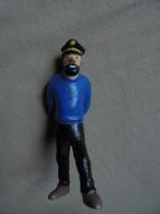 Ancienne Figurine Capitaine Haddock TINTIN Hergé - Tintin