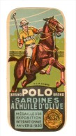 Chromo Etiquette Pour Sardines POLO - Etiquetas