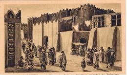 """Iraq:la Vie Assyrienne.""""une Rue Dans La Quartier De Babylone"""" - Irak"""