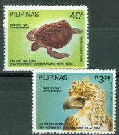 Philippines 1982 Eagle, Turtle MNH** - Lot. 4448 - Filippine