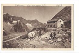 13659 - Cabane Constantia Ou Mountet  Alpinistes 2 Scans - VS Valais