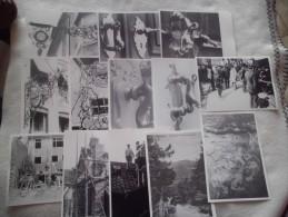 LOT DE 13 CARTES PHOTOS.REPRODUCTIONS ?.DECOS..SERRURES.TRAVAILLEURS..A IDENTIFIER.A IDENTIFIER - Cartes Postales