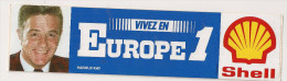 AUTOCOLLANTS  VIVEZ EN EUROPE 1  HAROLD KAY - Autocollants