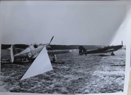 2016.1 Aviation/ Avions Poix-Terron RAF En France Battle Avec Ms 406 - Reproductions
