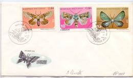 CUBA NATURE SERIES . BUTTERFLIES (franc0308) - Schmetterlinge