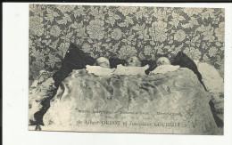 88 - Vosges Du Sud ??- Naissances De Triplés - 20 Mars 1910- De Albert Oudot Et Joséphine Courroy - à Situer- - Andere Gemeenten