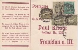 Germany; INFLA Postcard 1922 - Alemania