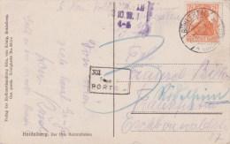 Germany; INFLA Postcard W. Due Marking 1918 - Alemania