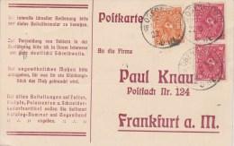 Germany; INFLA Postcard 1923 - Alemania