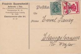Germany; INFLA Card 1919 - Alemania