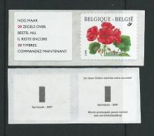 K33 R 90b Met Tekst Voorzijde 20 Zegels Over - Coil Stamps