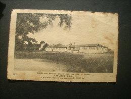 Compagnie Franco Belge Des Crayons Ateliers Bois   - Circulée 1929 L236 Texte En Patois (gascon ?) - France