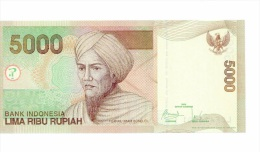 Indonesie 5 000 Rupiah 2009 NEUF - Indonésie