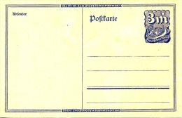 ALLEMAGNE. Carte Pré-timbrée Neuve. Messager à Cheval. - Lettres & Documents