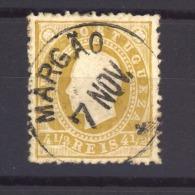 03415  -   Inde Portugaise :  Yv  125  (o)  Dentlé 13 1/2 - Portuguese India
