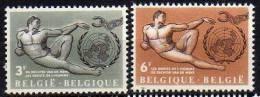 Belgique N° 1231 / 1232 Luxe ** - Bélgica