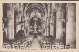33-SAINT-LOUBES-Intérieur De L'Eglise...1954 - Other Municipalities