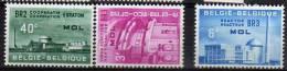 Belgique N° 1195 / 1197 Luxe ** - Bélgica