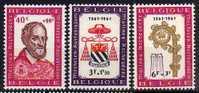 Belgique N° 1188 / 1190 Luxe ** - Belgien