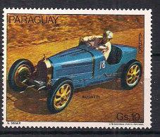 Paraguay 1978 Racing Cars, Bugatti, Mi 3067 MNH(**)
