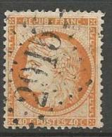 CERES SIEGE DE PARIS  N� 38 OBL LOSANGE GC 2915 TB