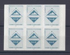 ANDORRE. YT 485 ( 6 V) Série Courante. Comù D'Encamp. Gommage Adhésif 1997 Neuf ** - Unused Stamps