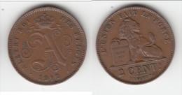 **** BELGIQUE - BELGIUM - 2 CENTIMES 1912 ALBERT I ROI DES BELGES **** EN ACHAT IMMEDIAT - 02. 2 Centimes