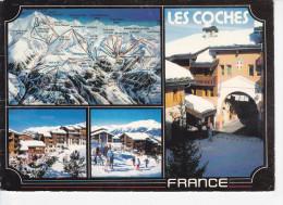 LES COCHES (73-Savoie) Panorama Pierre Novat, 4 Vues, Ed.André 1987 - Autres Communes