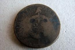 2 Sols Aux Balances Atelier I Limoges - 1789-1795 Monnaies Constitutionnelles