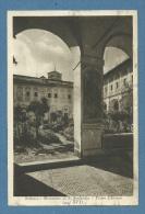 SUBIACO MONASTERO DI S.SCOLASTICA - PRIMO CHIOSTRO - VIAGGIATA 1935 - Parks & Gardens