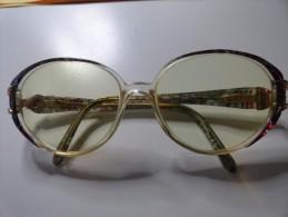 VINTAGE : SUPERBE PAIRE DE LUNETTES NINA RICCI - Brillen