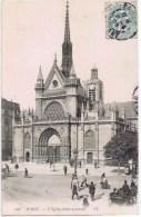 Cpa PARIS L EGLISE SAINT LAURENT - Churches
