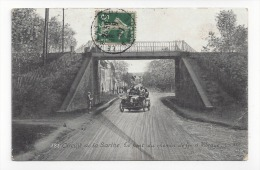 182  -  Vibraye  -  Circuit De La Sarthe  -  Le Pont Du Chemin De Fer - Vibraye