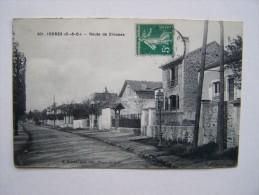91 YERRES Route De Crosne N°501 M.Mulard Photo éditeur - Yerres
