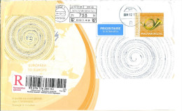 B30, Hungary, 2015, Used Cover - Covers & Documents