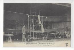 AVIATION AMBERIEU AERODROME DE BELLIEVRE BIPLAN SCLAVES /FREE SHIPPING REGISTERED - Aérodromes
