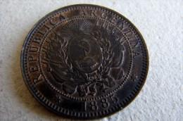 Dos Centavos 1885 - Argentine